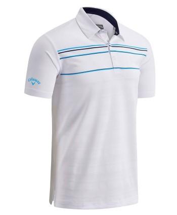 Pánské golfové triko Callaway Engineered Chest Stripe