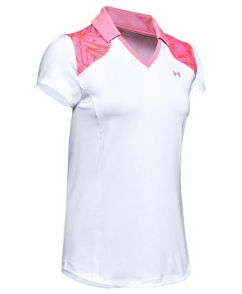 Dámske golfové tričko Under Armour Zinger Blocked 2020