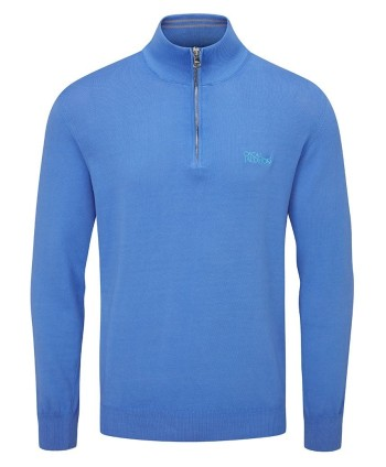 Oscar Jacobson Mens Waldorf Tour Knit Sweater
