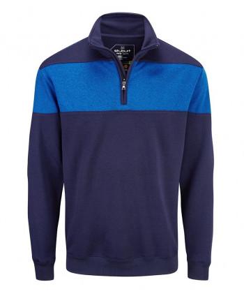 Pánský golfový svetr Stuburt Endurance Sport Zip Performance