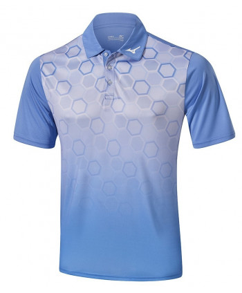 Pánské golfové triko Mizuno Gradient Hexagon