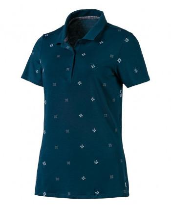 Dievčenské golfové tričko Puma Floral 2018