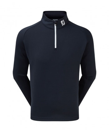 FootJoy Mens Jersey Knit Colour Block Chill Out Pullover