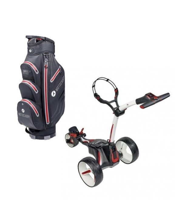 Elektrický vozík M1 a bag Motocaddy Dry- Series