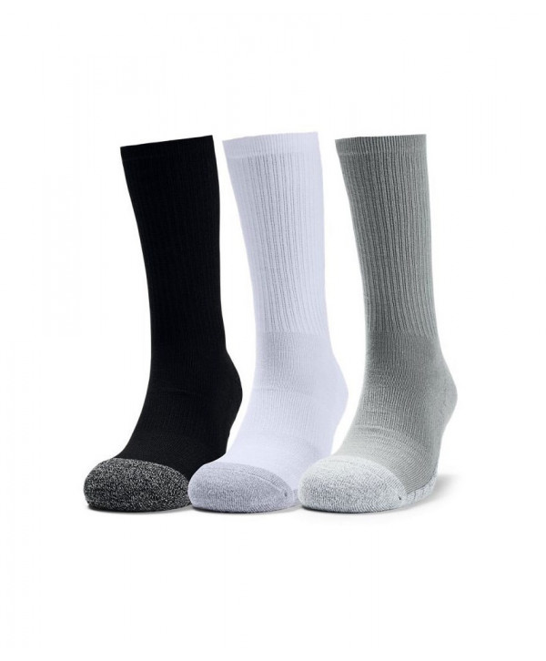 Under Armour Mens HeatGear Tech Crew Socks (3 Pack)