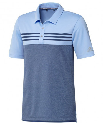 Pánské golfové triko Adidas Heather Block