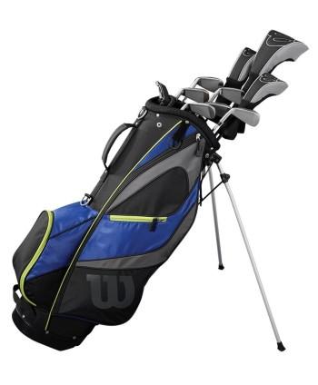Wilson Mens Reflex LS Golf Package Set (Steel/Graphite)