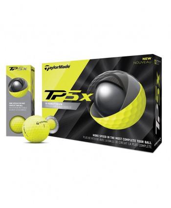 Golfové míčky TaylorMade TP5x Yellow (12 ks)