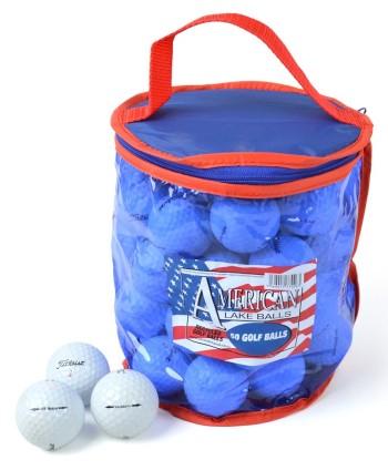 Hrané golfové míčky Titleist (50 ks)