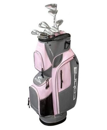 Cobra Ladies XL Speed 11 Piece Golf Package Set (Graphite Shaft)