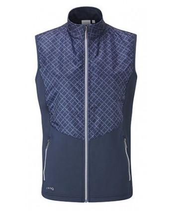 Dámska golfová vesta Ping Star Quilted Hybrid