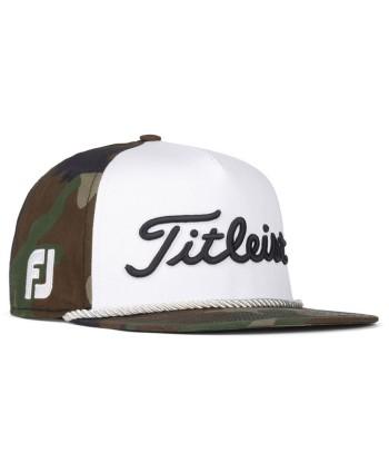 Titleist Tour Cotton Curve Cap - Camo Collection