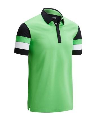 Callaway Mens Linear Print Polo Shirt