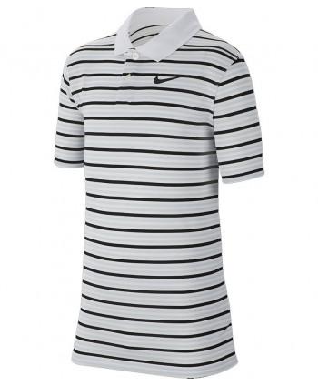 Detské golfové tričko Nike Dri-Fit Striped