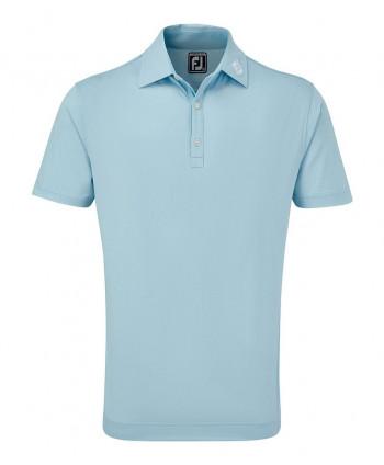 FootJoy Mens Smooth Pique FJ Print Polo Shirt 2020