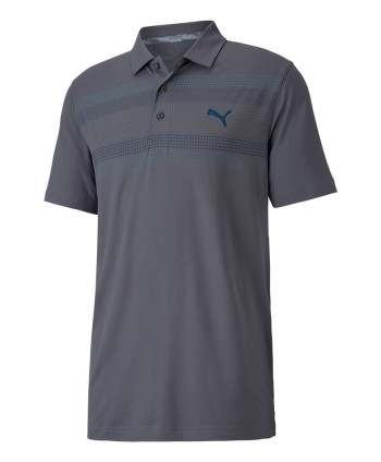 Pánské golfové triko Puma Road Map Chest Print