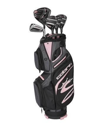Cobra Ladies F9 10 Pc Golf Set (Graphite Shaft)