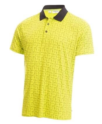 Calvin Klein Mens Geo CK Polo Shirt