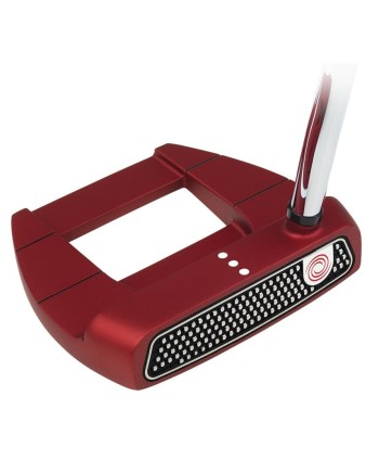 Pánsky putter Odyssey O-Works Red Jailbird Mini