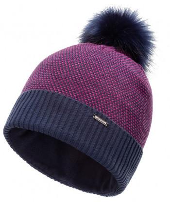 Dámska zimná čiapka Ping Birdseye Knit Bobble