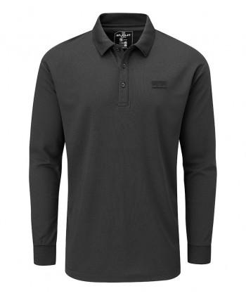 Stuburt Mens Active Long Sleeve Polo Shirt