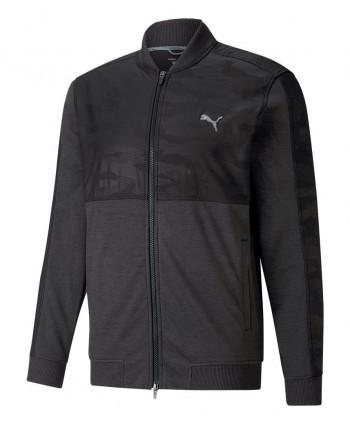 Pánská golfová bunda Puma Cloudspun Camo Quarter Zip