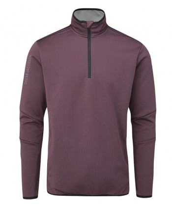 Oscar Jacobson Mens Thorpe Half Zip Fleece Pullover Top