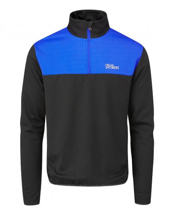 Oscar Jacobson Mens Wainwright Lined Merino Pullover Sweater
