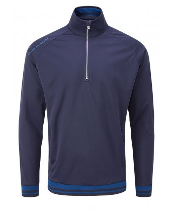 Oscar Jacobson Mens Ramsey Half Zip Jacket