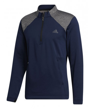adidas Mens COLD.RDY 1/4 Zip Pullover (Logo on Chest)