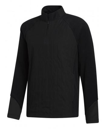 adidas Mens Frostguard 1/4 Zip Hybrid Layer Pullover Top