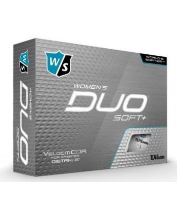 Dámské golfové míčky Wilson Duo Soft+ (12 ks)