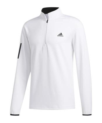 Pánská golfová mikina Adidas 3-Stripe Midweight Layering