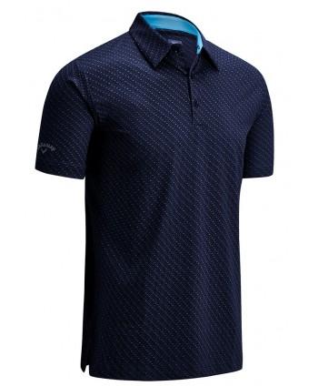 Pánské golfové triko Callaway All Over Chev Print