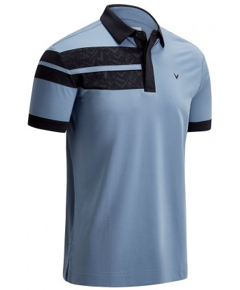 Pánské golfové triko Callaway Embossed Chev Block