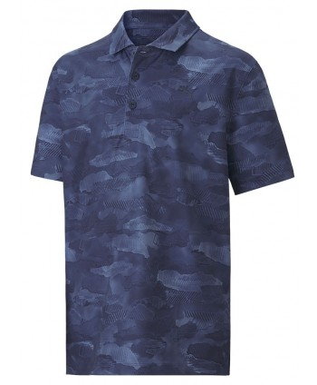 Puma Boys Solar Camo Polo Shirt