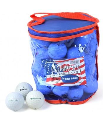 Mix hraných golfových míčků Srixon (50 ks)