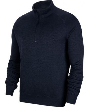 Nike Mens Dri-Fit Player Half Zip Long Sleeve Top