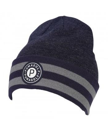 Zimní golfová čepice Puma P Circle Patch