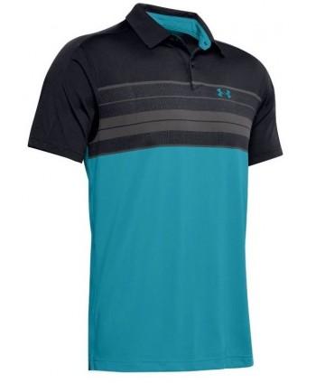 Pánské golfové triko Under Armour Vanish Chest Stripe