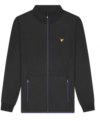 Lyle and Scott Mens Technical Zip Through Track Top