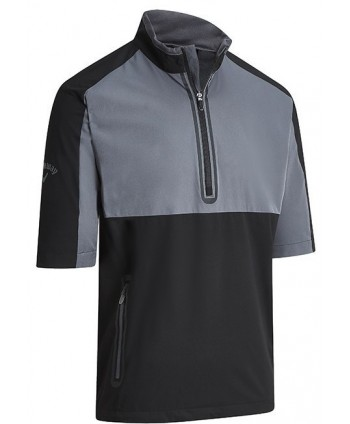 Pánska bunda Callaway Half Zip Chest Stripe Wind Jacket