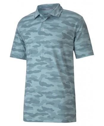 Puma Mens Cloudspun Camo Polo Shirt