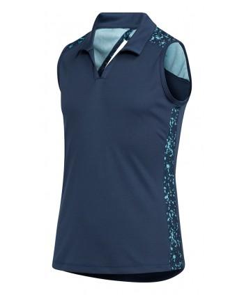 Dívčí golfové triko Adidas Printed Sleeveless