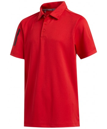 Dětské golfové triko Adidas Three Stripe