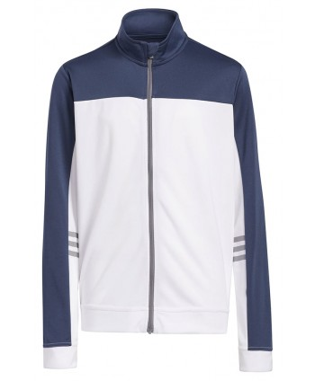 Dětská golfová bunda Adidas 3 Stripe Half Zip