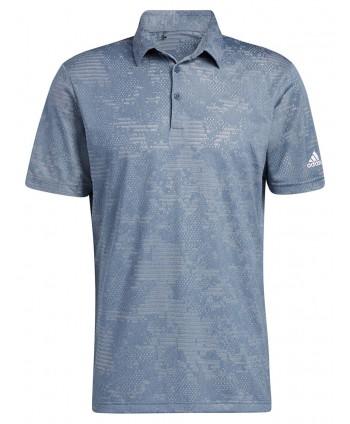 Pánské golfové triko Adidas Camo