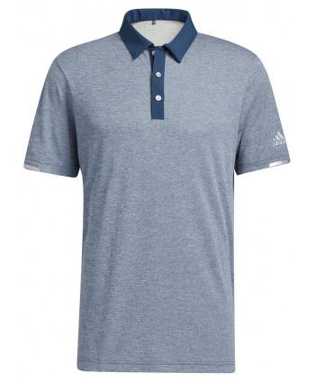 adidas Mens Heat.RDY Microstripe Polo Shirt