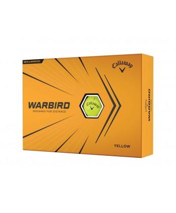 Golfové míčky Callaway Warbird Yellow (12 ks)