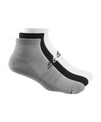 adidas Mens Ankle Socks (3 Pairs)